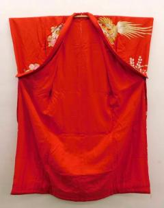 Exceptional Embroidered Japanese Ceremonial Kimono - 1309882