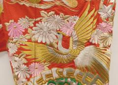 Exceptional Embroidered Japanese Ceremonial Kimono - 1309884