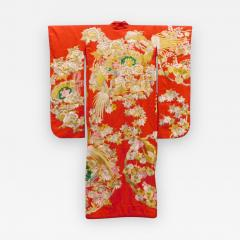 Exceptional Embroidered Japanese Ceremonial Kimono - 1311762