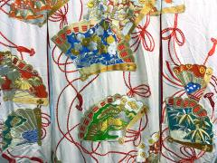 Exceptional Embroidered Vintage Japanese Ceremonial Kimono - 1206983