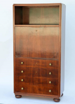 Exceptional French Art Deco Secretary Cabinet - 874933