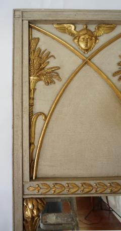 Exceptional French Directoire Trumeau Mirror of Monumental Scale circa 1800 - 789163