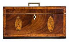 Exceptional George III Inlaid Tea Caddy - 753825