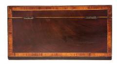 Exceptional George III Inlaid Tea Caddy - 753827