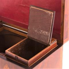 Exceptional George III Inlaid Tea Caddy - 753829