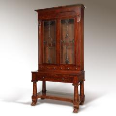 Exceptional Mahogany Bureau Bookcase from Baltimore Maryland Circa 1830 - 1515442