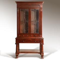 Exceptional Mahogany Bureau Bookcase from Baltimore Maryland Circa 1830 - 1515443