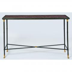 Exceptional Neo Classical Porphyry Console Table - 1633663