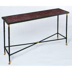 Exceptional Neo Classical Porphyry Console Table - 1633665
