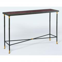 Exceptional Neo Classical Porphyry Console Table - 1633666