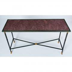 Exceptional Neo Classical Porphyry Console Table - 1633669