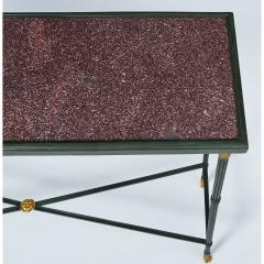 Exceptional Neo Classical Porphyry Console Table - 1633670