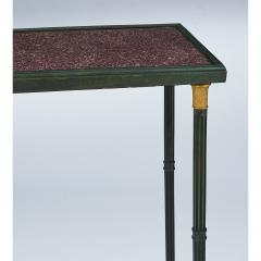 Exceptional Neo Classical Porphyry Console Table - 1633671