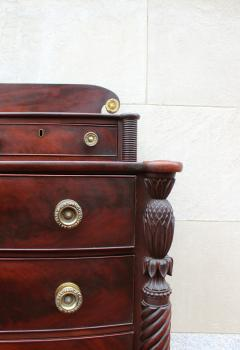 Exceptional North Shore Massachusetts Mahogany Chest c 1820 - 86493