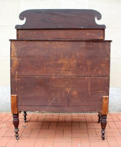 Exceptional North Shore Massachusetts Mahogany Chest c 1820 - 86495