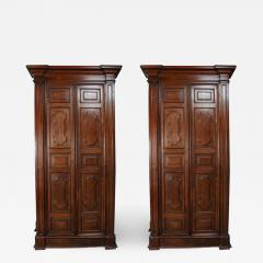 Exceptional Pair of Grand talian Wardrobes - 1425950