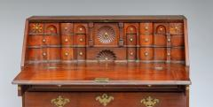 Exceptional Queen Anne Star Inlaid Slant Front Desk - 362468
