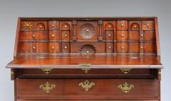 Exceptional Queen Anne Star Inlaid Slant Front Desk - 362469