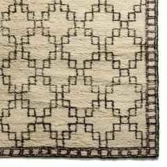 Exceptional Swedish Rug with Geometric Design - 1180136
