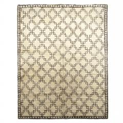 Exceptional Swedish Rug with Geometric Design - 1180137