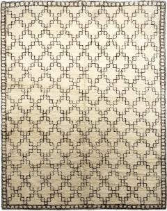 Exceptional Swedish Rug with Geometric Design - 1180442