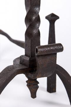 Exceptional pair of cast iron Chevets - 2111697