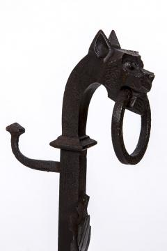 Exceptional pair of cast iron Chevets - 2111712
