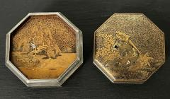 Exquisite Early Japanese Lacquer Kobako Box with Insert Tray - 1822075
