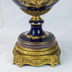 Exquisite Pair of Ormolu Mounted S vres style Porcelain vase - 1435564