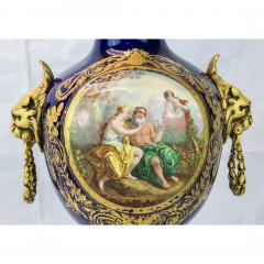 Exquisite Pair of Ormolu Mounted S vres style Porcelain vase - 1435567