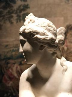 Extraordinary Italian 19th Century Marble Statue of Aphrodite - 632481
