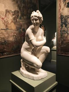 Extraordinary Italian 19th Century Marble Statue of Aphrodite - 632482