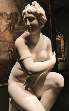 Extraordinary Italian 19th Century Marble Statue of Aphrodite - 632488