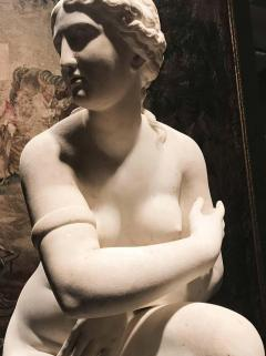 Extraordinary Italian 19th Century Marble Statue of Aphrodite - 1527646