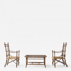 Extraordinary Italian Bamboo Set - 1453719