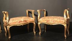 Extraordinary Italian Eleven Piece Gilt Salon Living Room Suite 19th Century - 632659