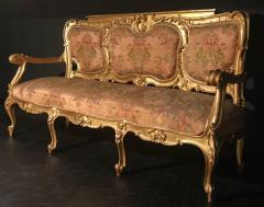 Extraordinary Italian Eleven Piece Gilt Salon Living Room Suite 19th Century - 632660