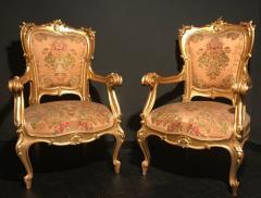 Extraordinary Italian Eleven Piece Gilt Salon Living Room Suite 19th Century - 632664