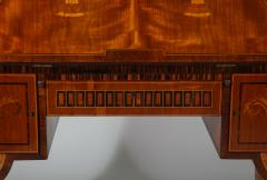 Extraordinary Swedish Grace slant front desk with elaborate inlays - 1357669