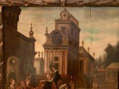 Extremely Rare Important Pair Old Master Paintings 17th C Stellar Pedigree - 750273