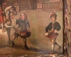 Extremely Rare Important Pair Old Master Paintings 17th C Stellar Pedigree - 750274