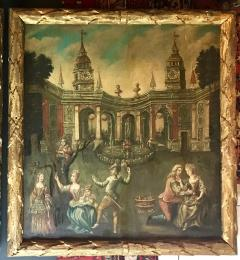 Extremely Rare Important Pair Old Master Paintings 17th C Stellar Pedigree - 750275