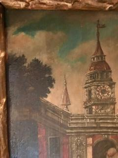 Extremely Rare Important Pair Old Master Paintings 17th C Stellar Pedigree - 750276