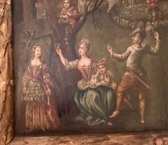 Extremely Rare Important Pair Old Master Paintings 17th C Stellar Pedigree - 750278