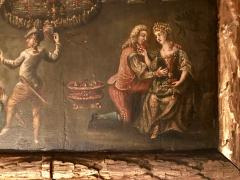 Extremely Rare Important Pair Old Master Paintings 17th C Stellar Pedigree - 750279