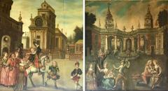 Extremely Rare Important Pair Old Master Paintings 17th C Stellar Pedigree - 751080