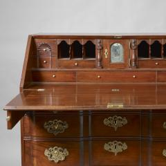 Chippendale Block Front Slant Top Desk c 1760 1780 - 5405
