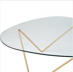 F J Barba Corsini Barba Corsini Pedrera Coffee Table in Brass for Gubi - 1675533