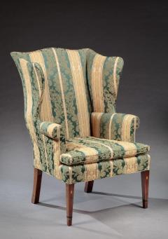 FEDERAL INLAID WING CHAIR - 752095