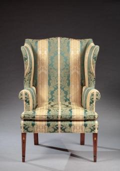 FEDERAL INLAID WING CHAIR - 752097